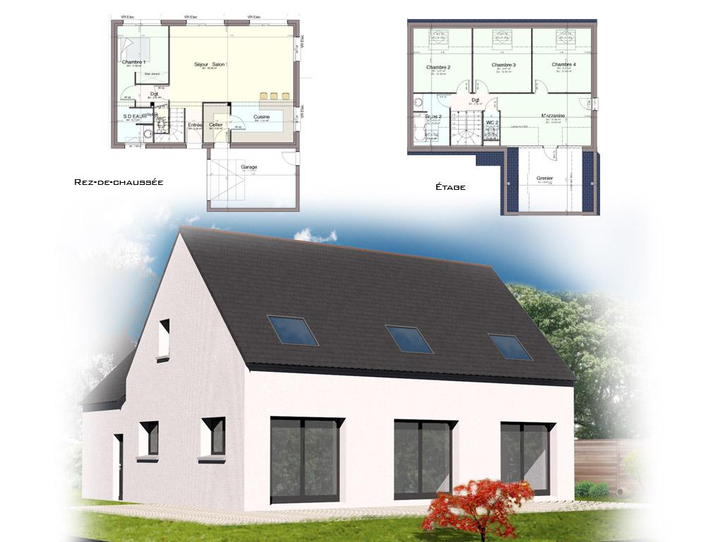Style D Architecture Maisons Traditionnelles Kermor Habitat